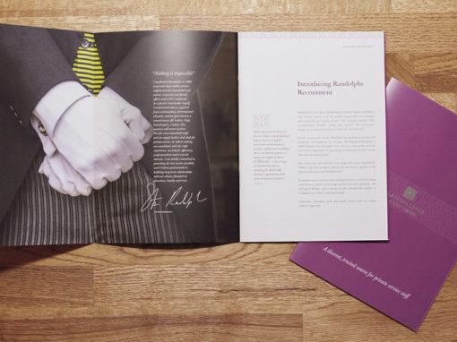 Randolph's Brochure