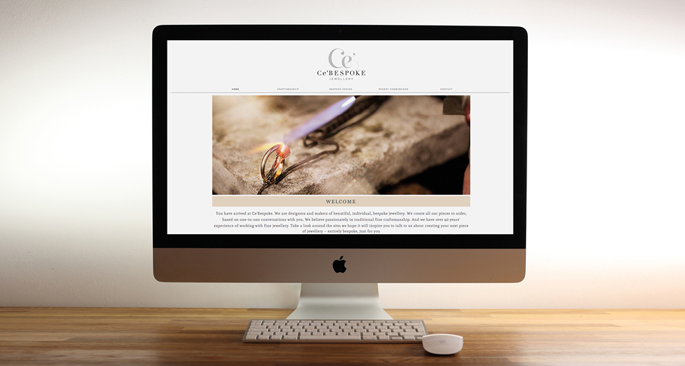 Ce'Bespoke brand identity & website