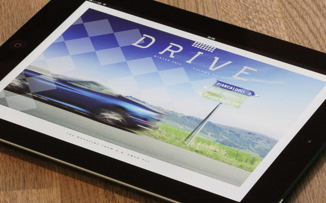 H.R. Owen Drive iPad app