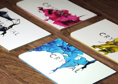 Crystal Press business cards