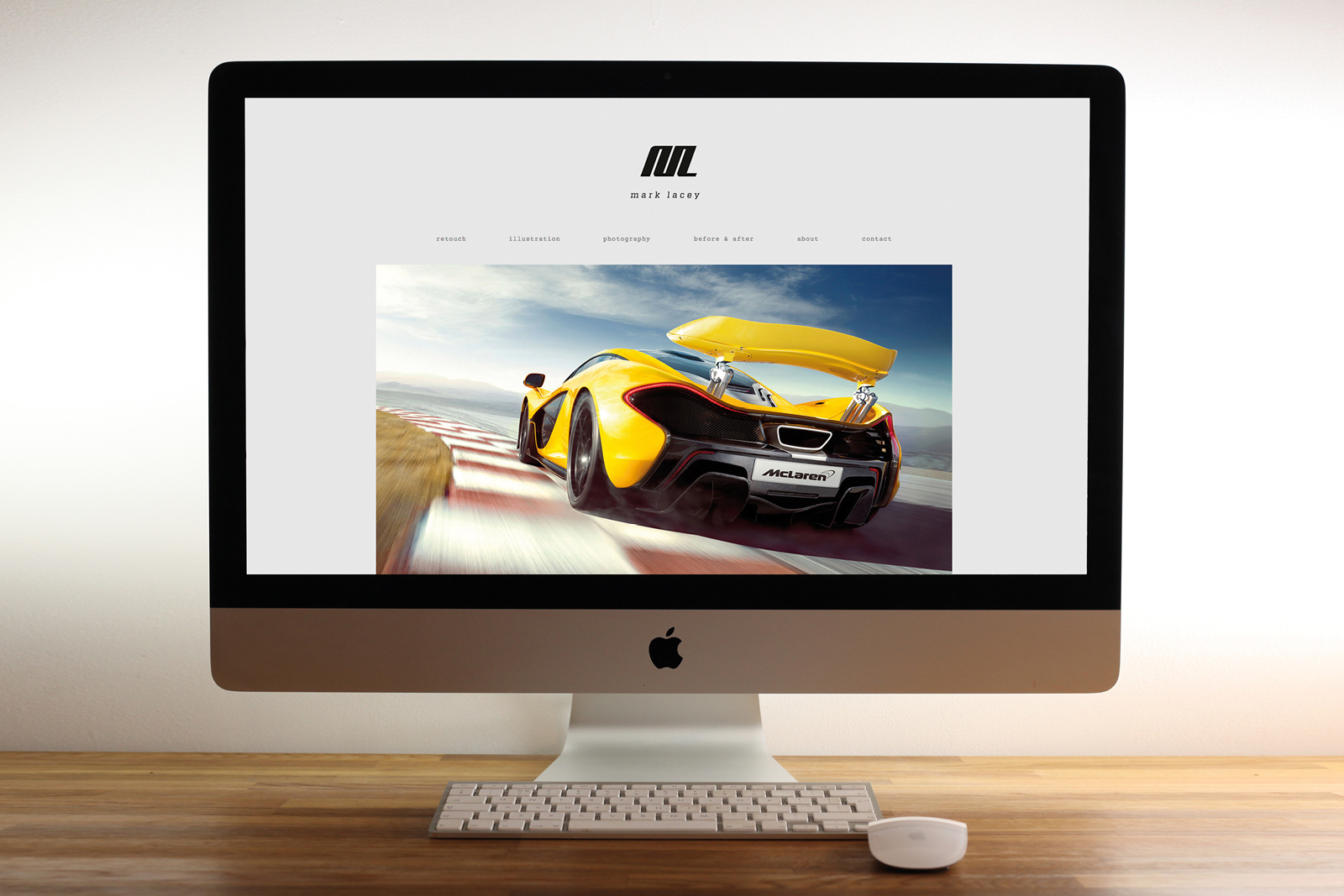 Mark Lacey brand identity & website
