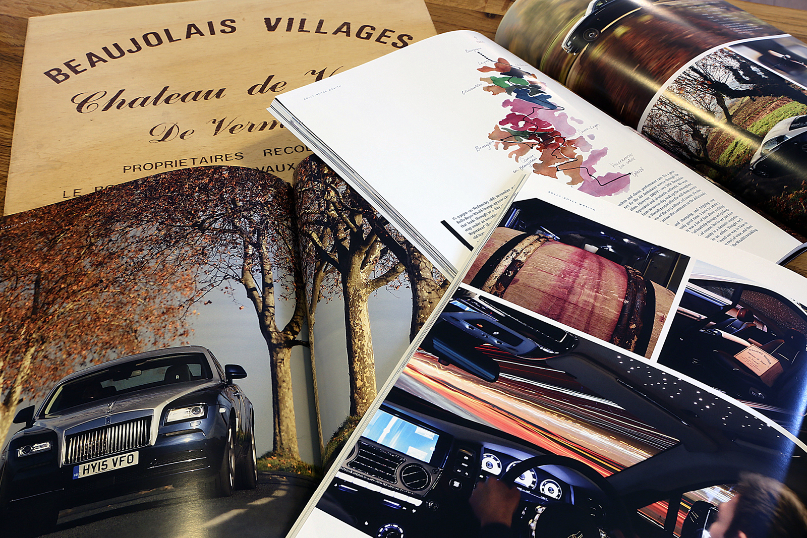 H.R. Owen Drive Magazine: Issue 12 – Beaujolais Nouveau photoshoot