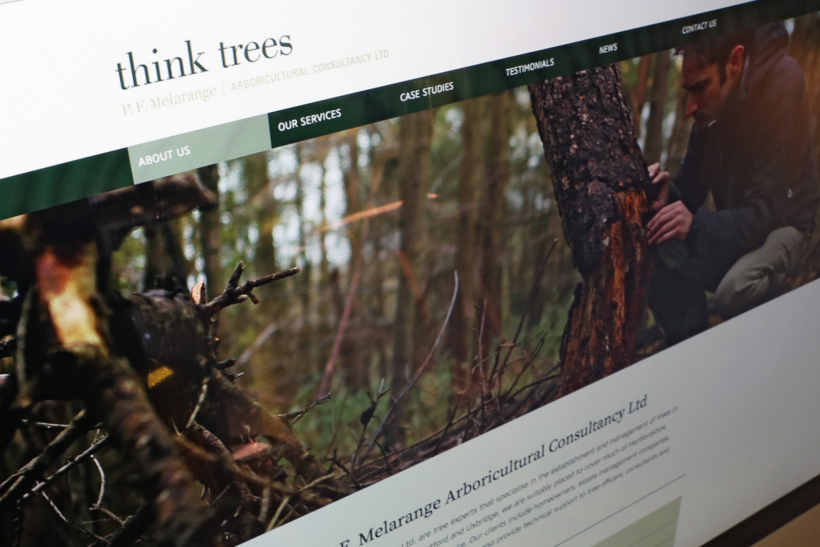 Think Trees Website