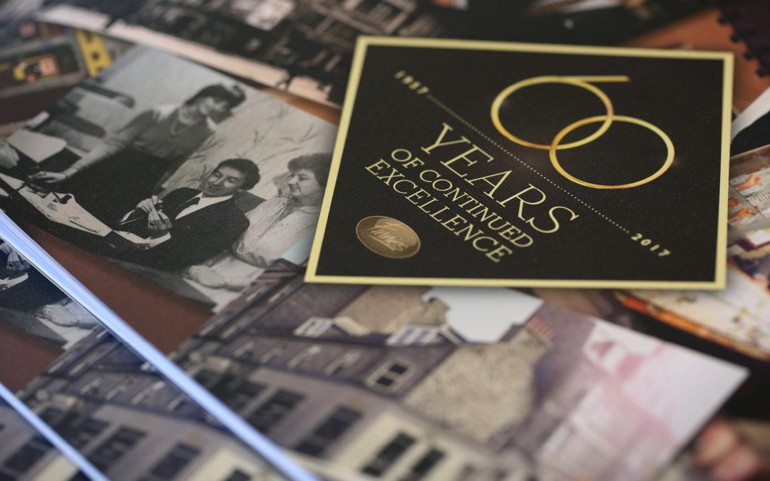 Finnies 60th Anniversary Brochure