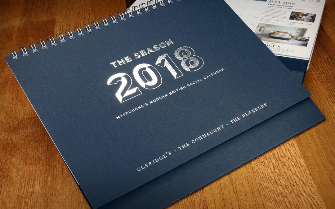 2018 Maybourne Group Calendar