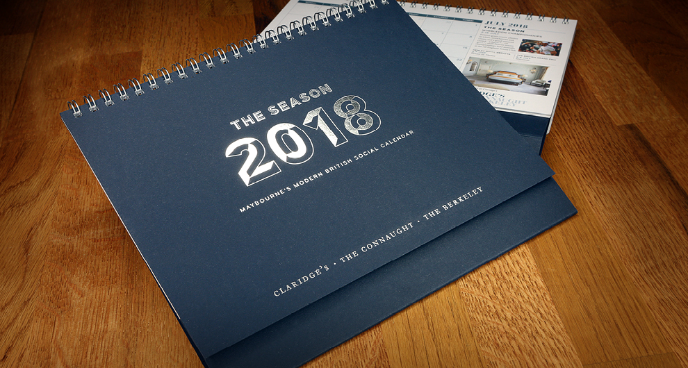 2018 Maybourne Group Calendar