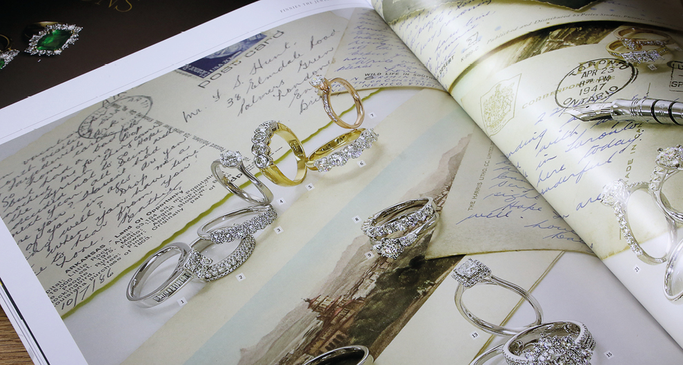 Timeless Magazine: Issue 04. Design, production and publishing of the luxury lifestyle customer magazine for Finnies the Jeweller, Aberdeen