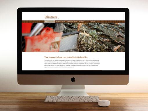 Think Tree Care website