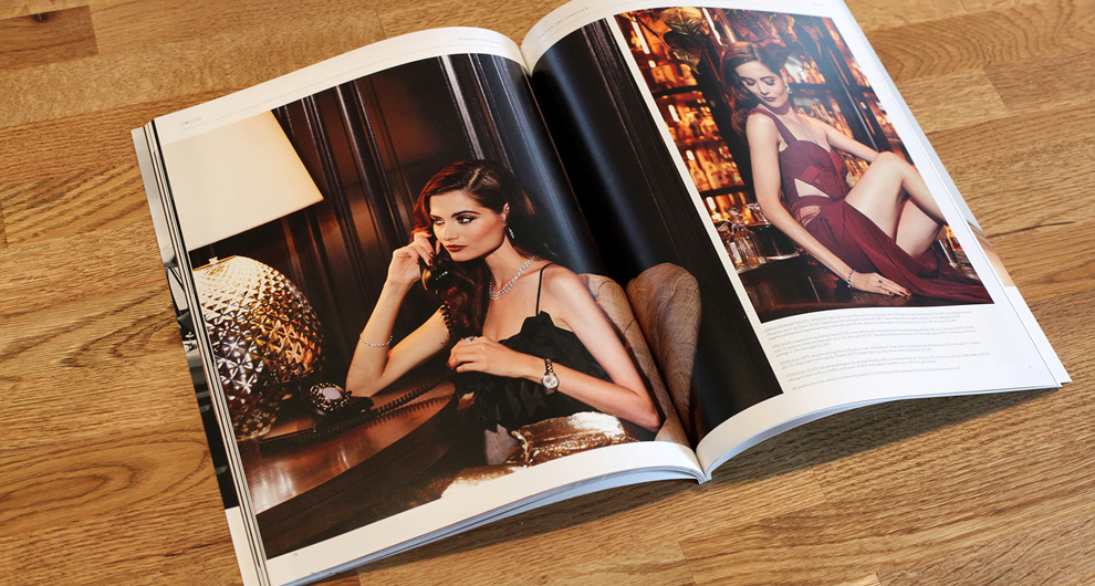 Timeless Magazine: Issue 03. Design, production and publishing of the luxury lifestyle customer magazine for Finnies the Jeweller, Aberdeen