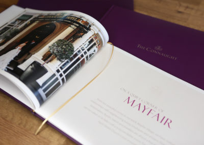 The Connaught events brochure