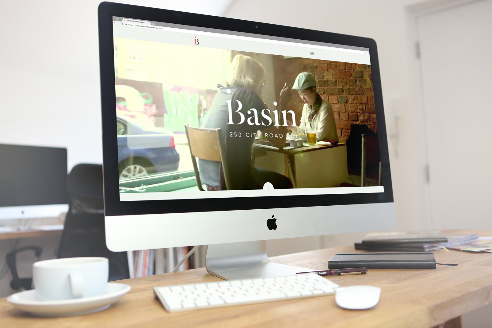 Bespoke WordPress website design & build for the Berkeley Groups new commercial development in the heart of London's Tech City, iBasin
