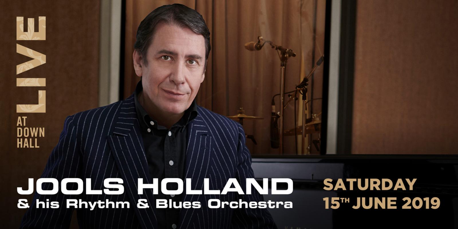 Live at Down Hall - Jools Holland (Web Banner)