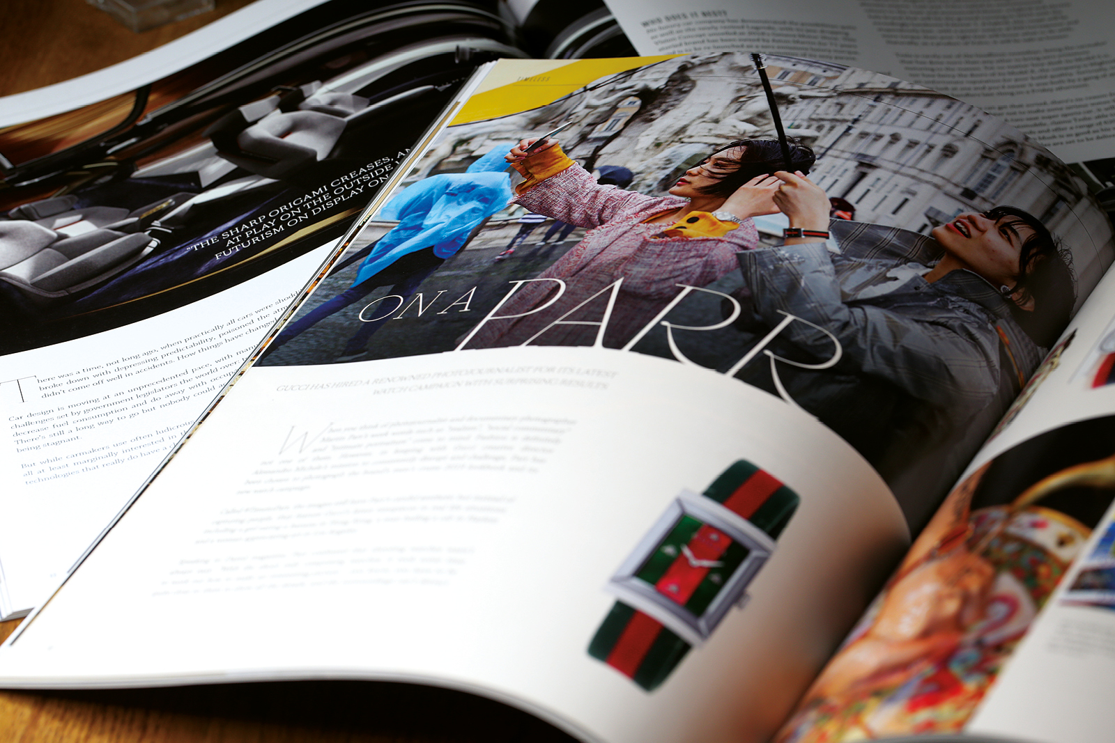 Timeless Magazine: Issue 7. Design, production and publishing of the luxury lifestyle customer magazine for Finnies the Jeweller, Aberdeen