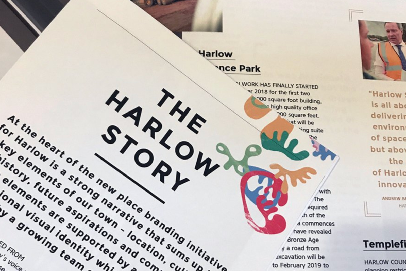 Harlow Stories: Issue 07. Harlow District Chamber of Commerce magazine design and production in partnership with Magnificent Stuff, Harlow