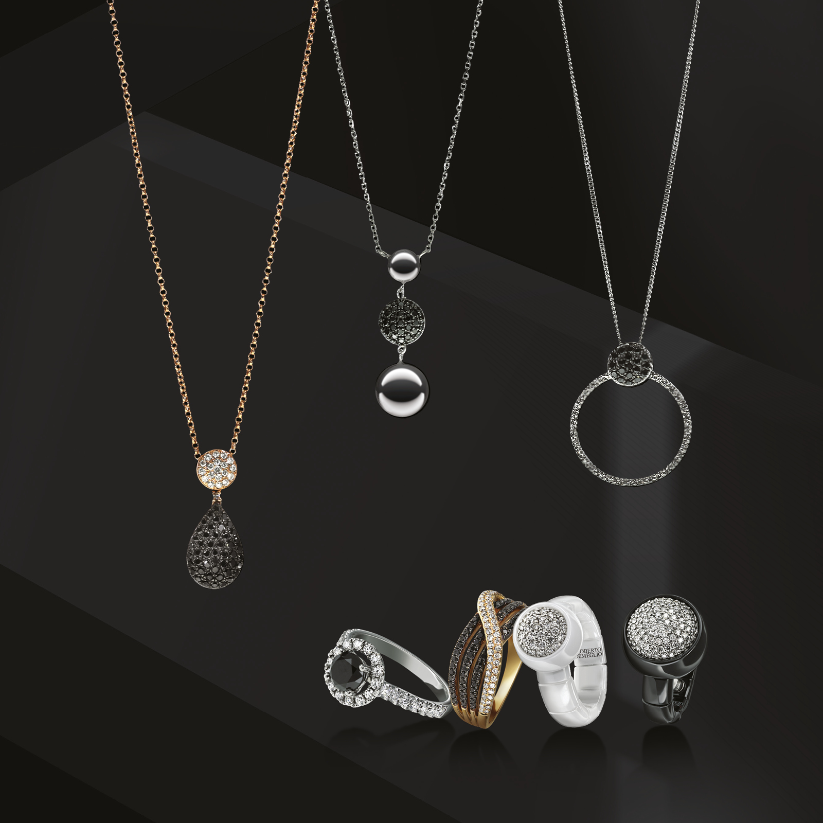 Luxury jewellery and watch photography for Finnies the Jeweller, Aberdeen