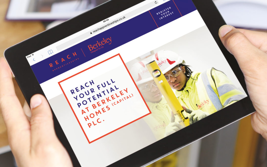 Reach Apprenticeships website