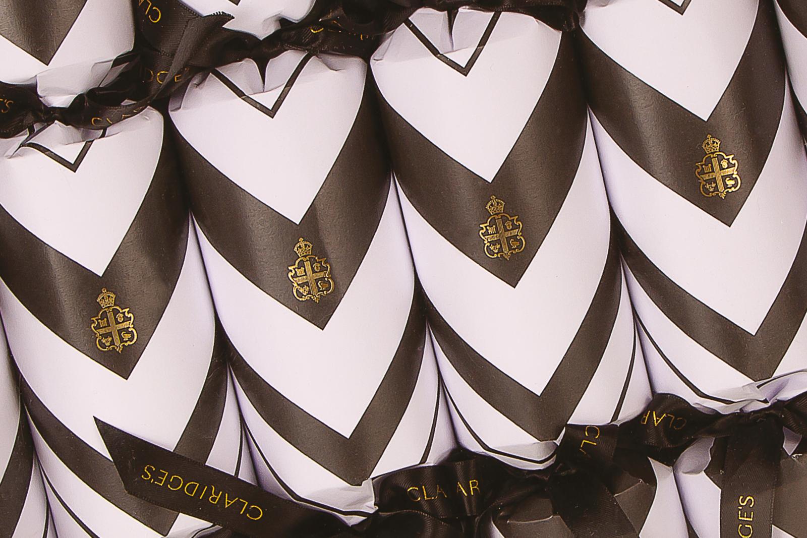 Luxury Christmas Cracker design, for Claridge's, London.