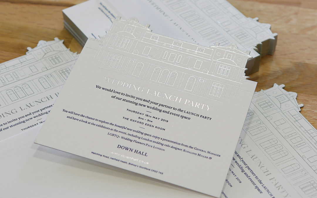 Resurrecting the art of traditional print for Down Hall Hotel