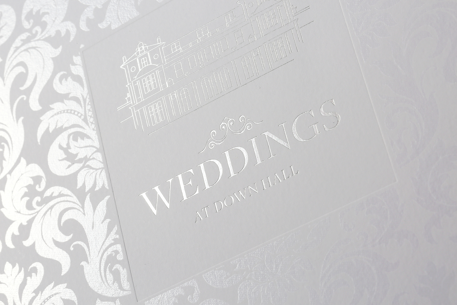 Down Hall Wedding Brochure