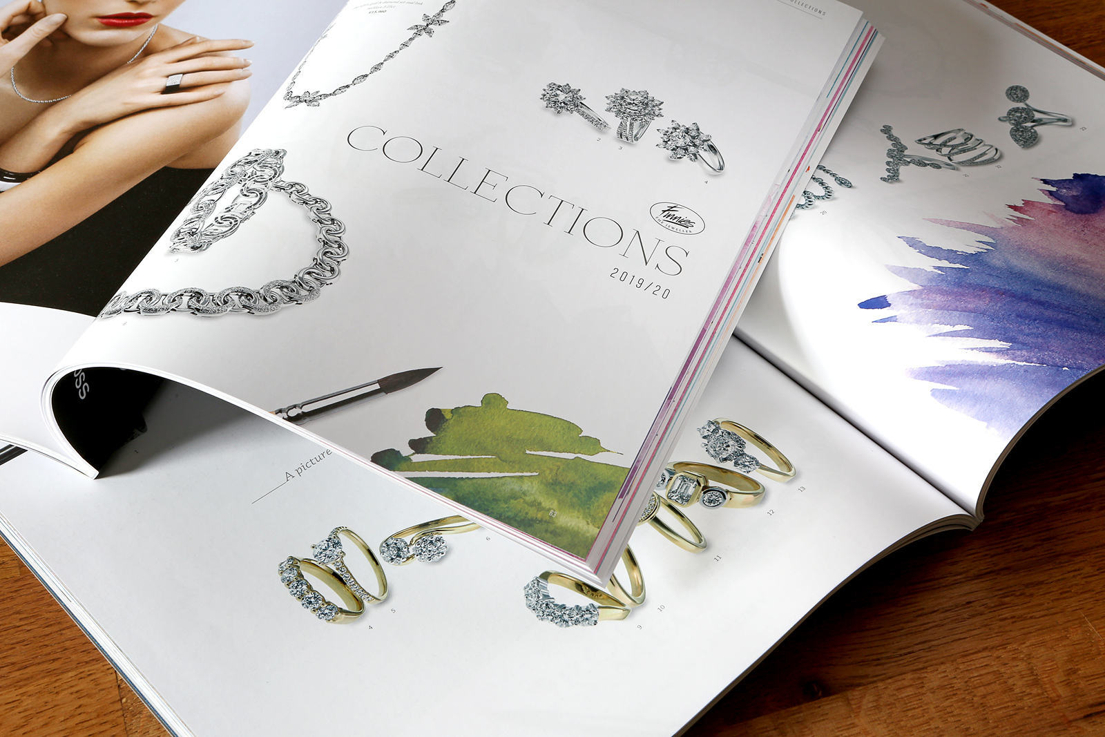 Timeless Magazine: Issue 8. Design, production and publishing of the luxury lifestyle customer magazine for Finnies the Jeweller, Aberdeen